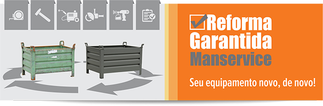Manservice - Sistema de movimentação e armazenagem